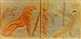 """""""Египет (2)"""" панно/барельеф"""